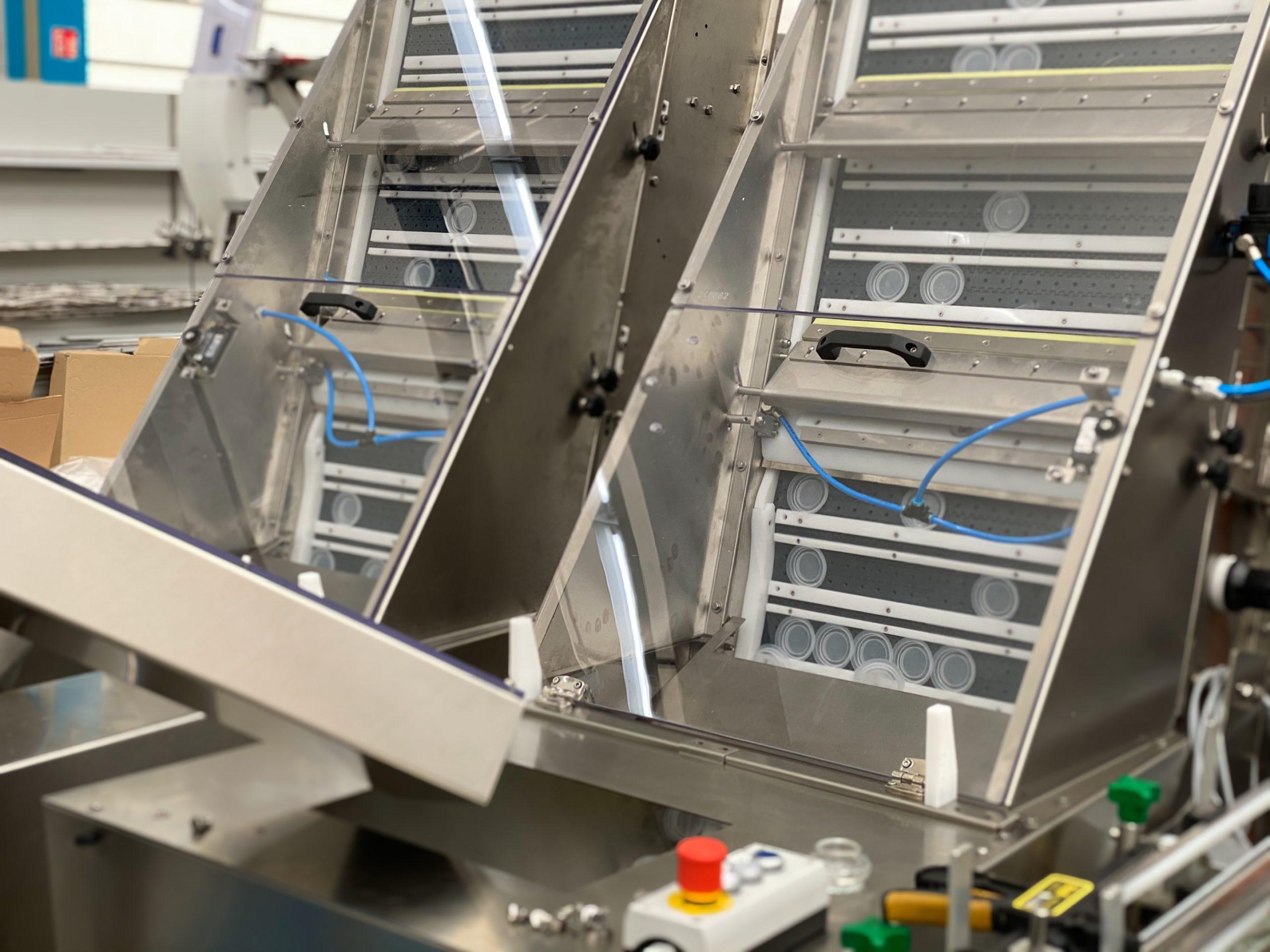 verpackungsmaschinen, zentrifugalförderer